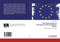 The Community of Principles of the European Union的封面