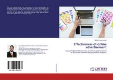 Effectiveness of online advertisement kitap kapağı