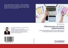 Effectiveness of online advertisement的封面