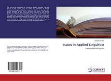 Bookcover of Issues in Applied Linguistics