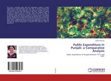 Bookcover of Public Expenditure In Punjab: a Comparative Analysis