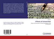 Effects of Universities的封面