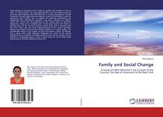 Copertina di Family and Social Change