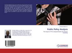 Bookcover of Public Policy Analysis