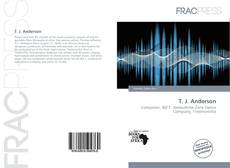 Bookcover of T. J. Anderson