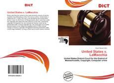United States v. LaMacchia的封面