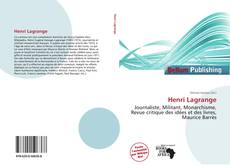 Bookcover of Henri Lagrange