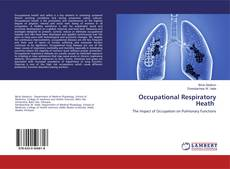 Bookcover of Occupational Respiratory Heath