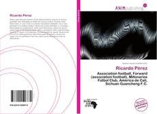 Borítókép a  Ricardo Pérez - hoz