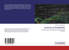 Bookcover of Lectures in Probability