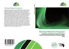 Buchcover von Thomas Roberts Ferguson