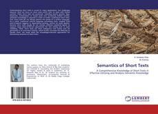 Buchcover von Semantics of Short Texts