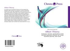 Couverture de Albert Thierry