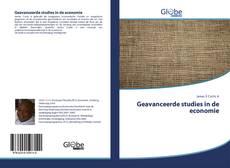 Bookcover of Geavanceerde studies in de economie
