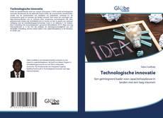 Bookcover of Technologische innovatie