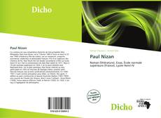 Bookcover of Paul Nizan
