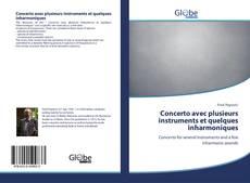 Capa do livro de Concerto avec plusieurs instruments et quelques inharmoniques