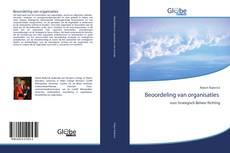 Beoordeling van organisaties kitap kapağı