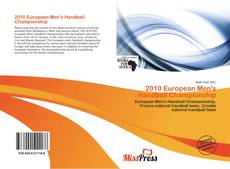 Bookcover of 2010 European Men's Handball Championship