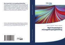 Bookcover of Niet-lineairiteit in microgolfsupergeleiding