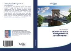 Portada del libro de Human Resource Management en servicekwaliteit