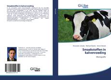 Capa do livro de Smaakstoffen in kalvervoeding