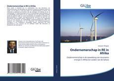 Buchcover von Ondernemerschap in RE in Afrika
