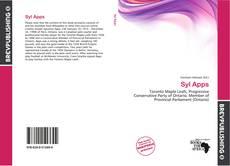 Обложка Syl Apps