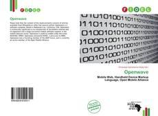 Buchcover von Openwave