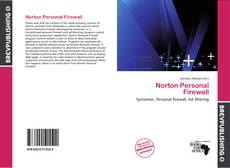 Bookcover of Norton Personal Firewall
