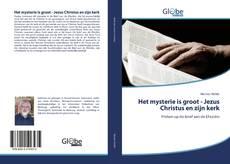 Bookcover of Het mysterie is groot - Jezus Christus en zijn kerk