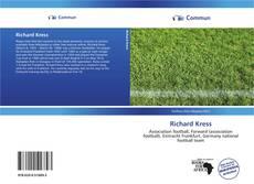 Couverture de Richard Kress