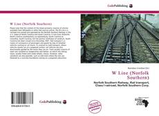Bookcover of W Line (Norfolk Southern)