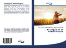 Portada del libro de Zwaarlijvigheid en eierstokreservaat