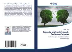 Bookcover of Frontale analyse in Ligand-Exchange Columns