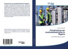 Privatisering van overheidsbedrijven in Nigeria kitap kapağı