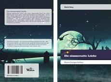 Capa do livro de Die nimmersatte Leiche