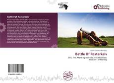 Bookcover of Battle Of Rastarkalv