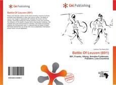 Buchcover von Battle Of Leuven (891)