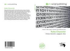 Ruby Character kitap kapağı