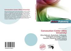Bookcover of Convocation Center (Ohio University)