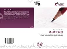 Chandler Davis kitap kapağı