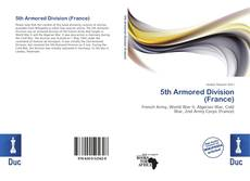 Capa do livro de 5th Armored Division (France)