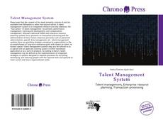 Bookcover of Talent Management System