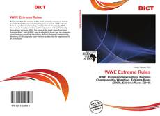 Bookcover of WWE Extreme Rules