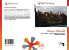 Bookcover of Siege of Przemyśl