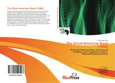 Buchcover von The Great American Bash (1988)