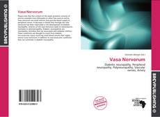 Portada del libro de Vasa Nervorum