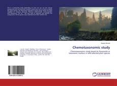 Chemotaxonomic study kitap kapağı