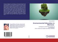 Buchcover von Environmental Education in Morocco